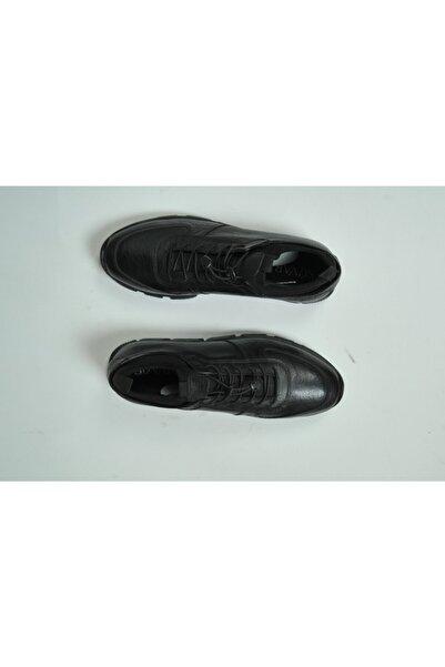 SÜVARİ Ağzı Lastikli Deri Casual Ayakkabı