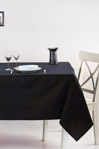 Happy Love Siyah Carmen Model Dertsiz Masa Örtüsü 160x220 cm