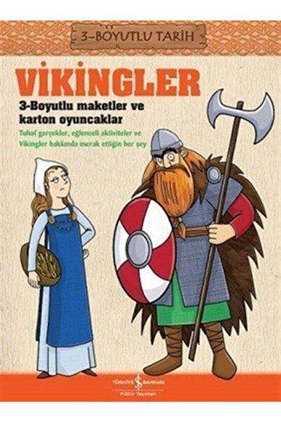 İş Bankası Kültür Yayınları Vikingler 3 Boyutlu Tarih