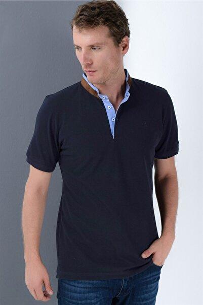 Dewberry Erkek Lacivert T-Shirt - 2090001T8564
