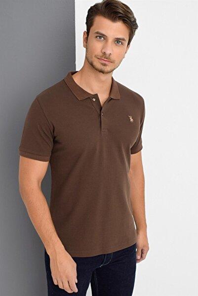 Dewberry Erkek Kahverengi T-shirt T8561