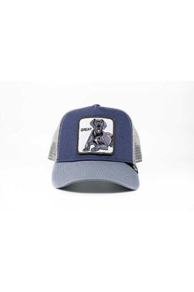 Goorin Bros Unisex Lacivert Big D Standart Şapka 101-0617