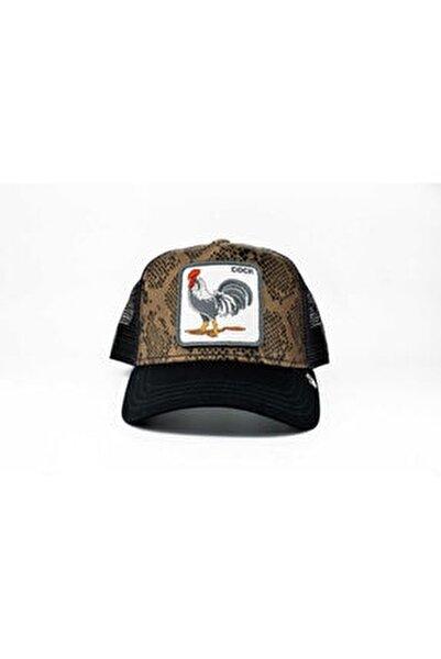 Unisex Siyah Standart Tropical Şapka