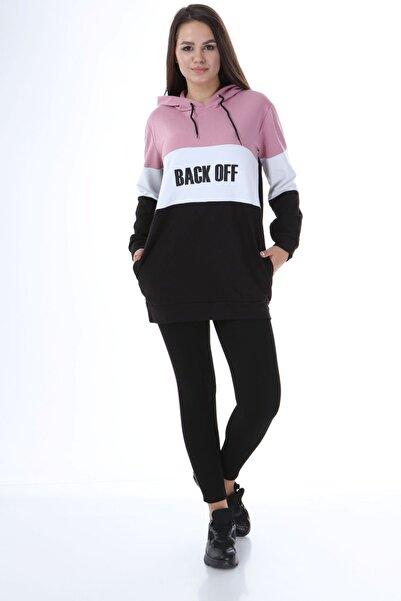 Rodi Jeans Kadın Sweat Tunik Parçalı Back Off