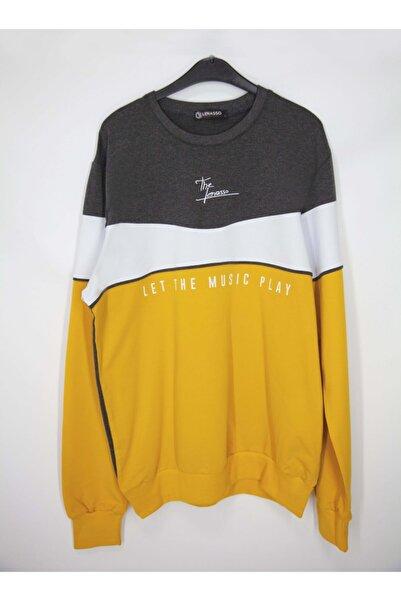 Lenasso Erkek Sarı Uzun Kollu Tişört