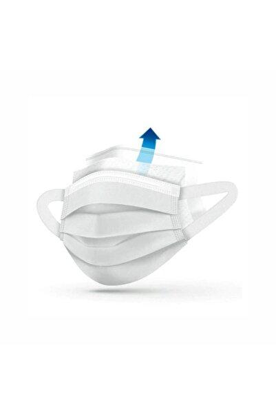 LASERA Beyaz Yumuşak Elastik Kulaklı Yeni Nesil Maske 50 Adet