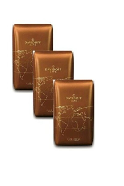 Davidoff Caffe Creme Çekirdek Kahve 500 Gr X 3 Adet