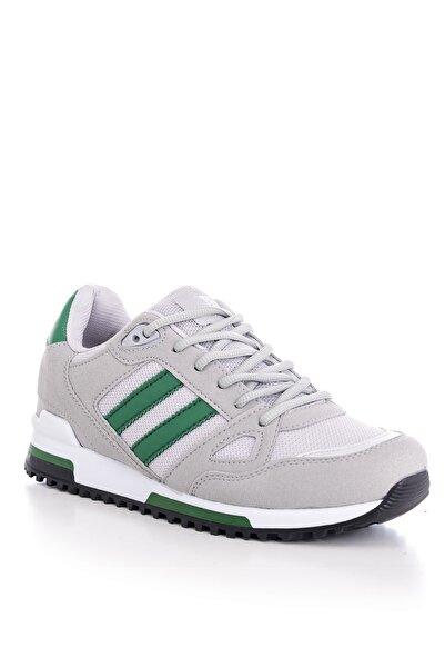Tonny Black Unısex Gri Yeşil Spor Ayakkabı