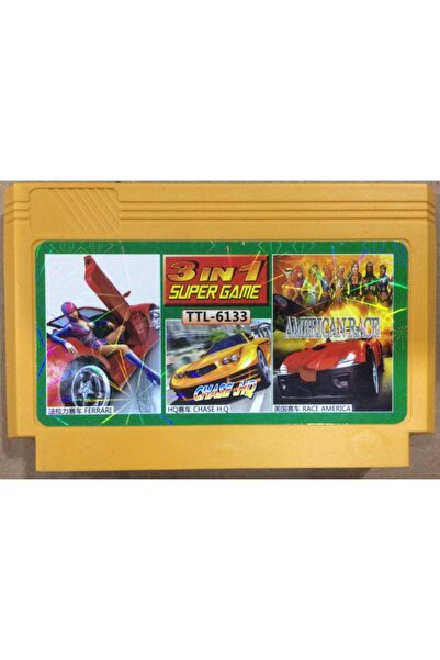 Micro Atari,oyun Kaseti Araba Yarışı Ücretsiz Kargo
