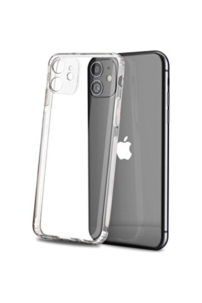 """Di Aksesuar Iphone 11 (6.1"""") Tıpalı Kamera Korumalı Kaydırmaz Darbeye Dayanıklı Kılıf"""
