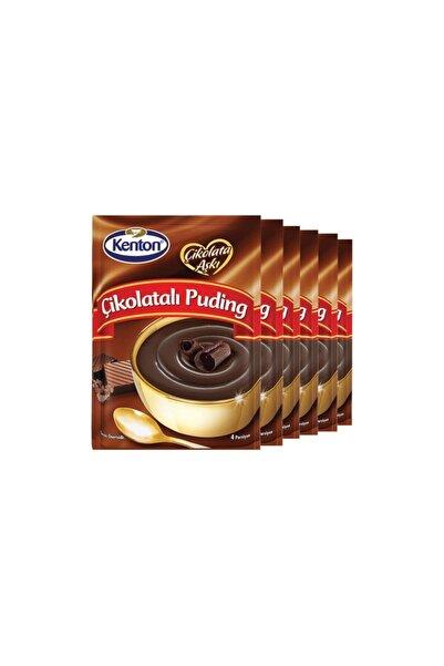 Kenton Puding Çikolata Aşkı Çikolatalı 100 Gr X 6'lı Paket 6 Lı Paket 100 Gr
