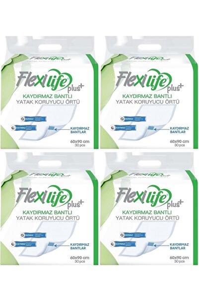 Flexi Life Hasta Alt Açma Yatak Koruyucu Örtü 60*90 Cm 120 Adet (4pk*30) Kaydırmaz