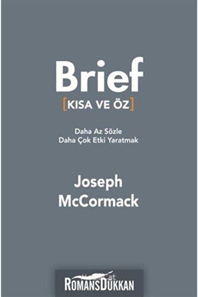 MediaCat Kitapları Brief - Kısa Ve Öz & Daha Az Sözle Daha Çok Etki Yaratmak