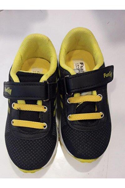 Funny Baby Erkek Çocuk Siyah Spor Ayakkabı