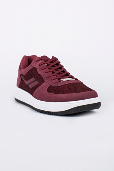 Lescon Erkek Bordo Sneaker Ayakkabı