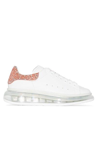 ALEXANDER MCQUEEN Kadın Beyaz Air Taban Sneaker Ayakkabı