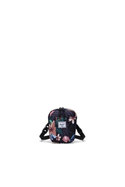Herschel Supply Co. Unisex Siyah Cruz Summer Floral Black Bel Ve Omuz Çantası