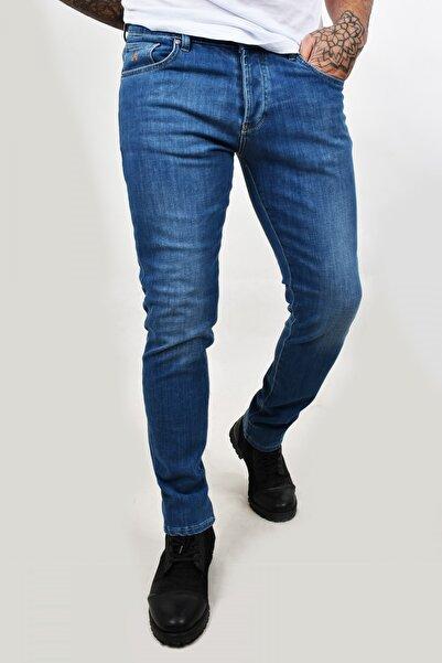 DeepSEA Erkek Buz Mavisi Likralı Kot Pantolon 2100345