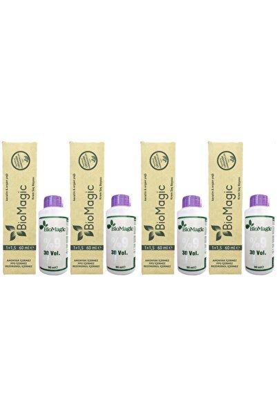 BIOMAGIC Organik Amonyaksız Saç Boyası Fildişi Sarısı-11.00 +Oksidan 4 Adet