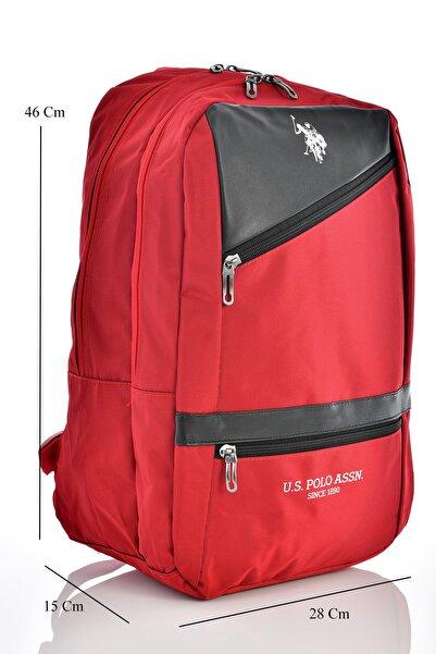 U.S. Polo Assn. 9336 Okul Sırt Çantası Kırmızı