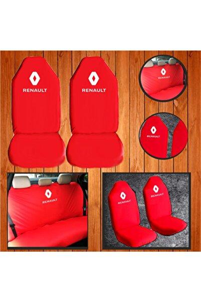 Universal Renault Broadway Kırmızı Servis Kılıfılikralı -penye Kılıf