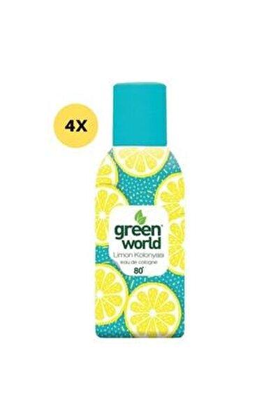 Limon Kolonyası Sprey 80 Derece 150 Ml 4 Adet