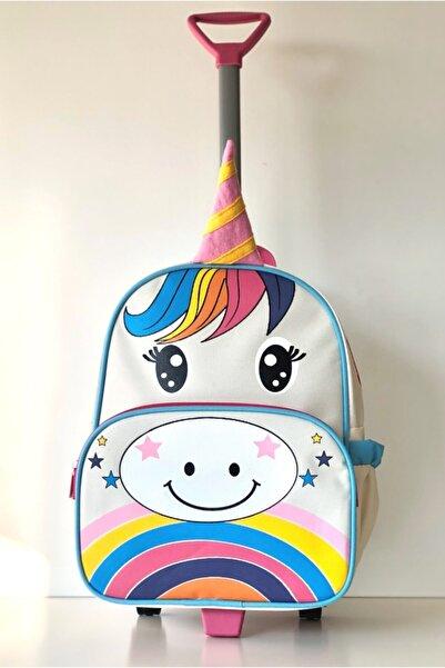 Lullaby Unicorn Çekçekli Okul Çantası & Valiz