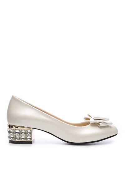 KEMAL TANCA Kadın  Ekru 357 520 Ayakkabı