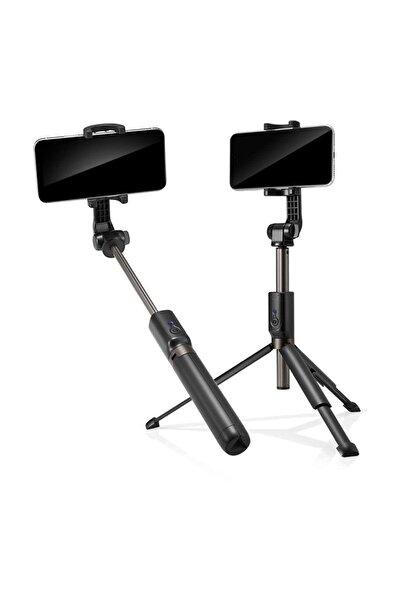 Spigen Tripodlu Ve Kumandalı Bluetooth Selfie Çubuğu, Tüm Cihazlara Uyumlu S540w