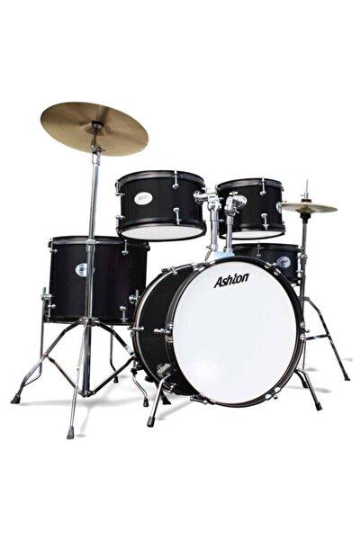 Ashton Joeydrums Junior Akustik Davul Seti Siyah Çocuk Baterisi