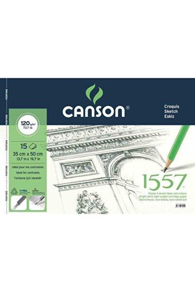Canson 1557 Spiralli Resim Defteri 35x50 120gr 15yp