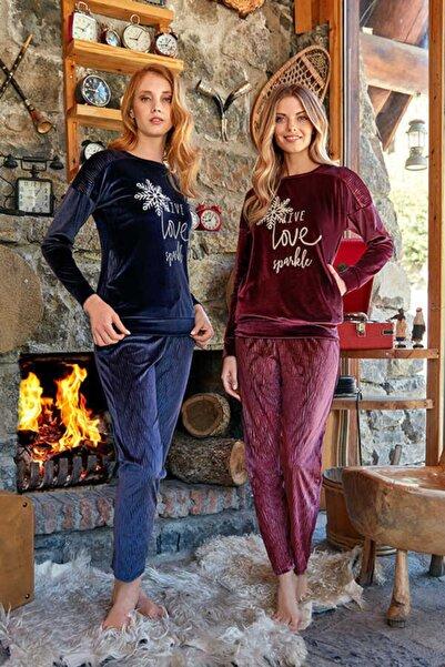 Berrak Kadın Lacivert Pijama Takımı 646