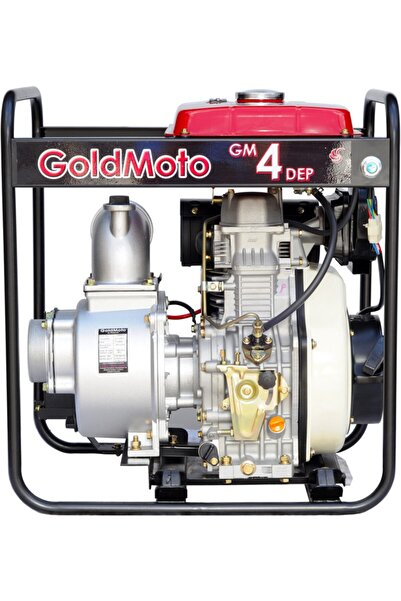 gold moto 10hp 4inç Marşlı Akü Hediyeli Motopomp