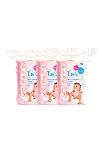 İpek Bebek Temizleme Pamuğu 60'lı 30 Adet