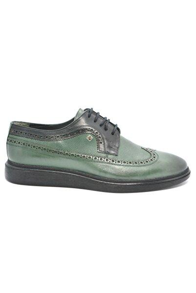 Fosco Erkek Yeşil Klasik Ayakkabı