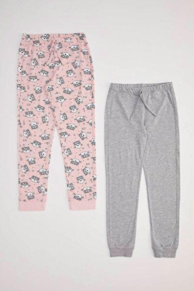 DeFacto Kız Çocuk Pijama Altı 2'li