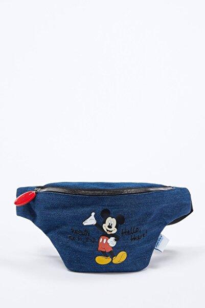 DeFacto Mickey Mouse Lisanslı Bel Çantası