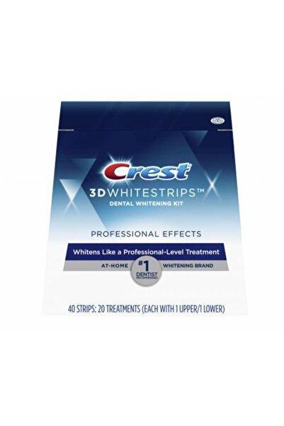 CREST 3d White Professional Effects Diş Beyazlatma Bantları 20 Bant