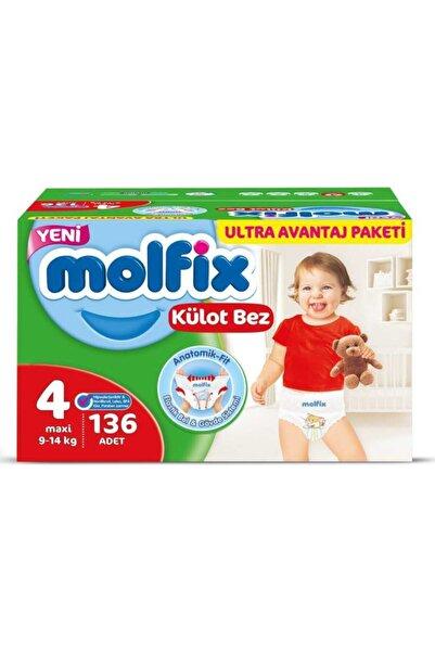 Molfix Külot Bez 4 Numara 136 Adet Ultra Avantaj Paketi Kutu