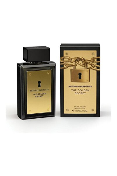 Antonio  Banderas The Golden Secret Edt 100 ml Erkek Parfüm 8411061722756