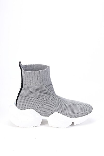 Ataköy Ayakkabı Kadın Yüksek Taban Çorap Bot