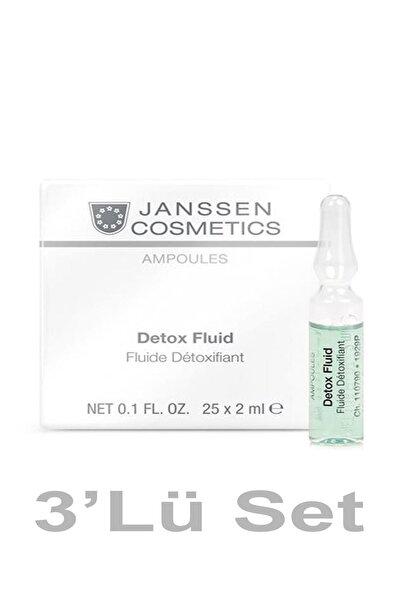 Janssen Cosmetics Janssen Kozmetik Ampul Detox Fluid 2 Ml X3 Adet