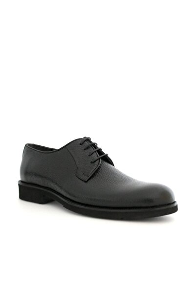 Beta Shoes Hakiki Deri Erkek Klasik Ayakkabı Siyah