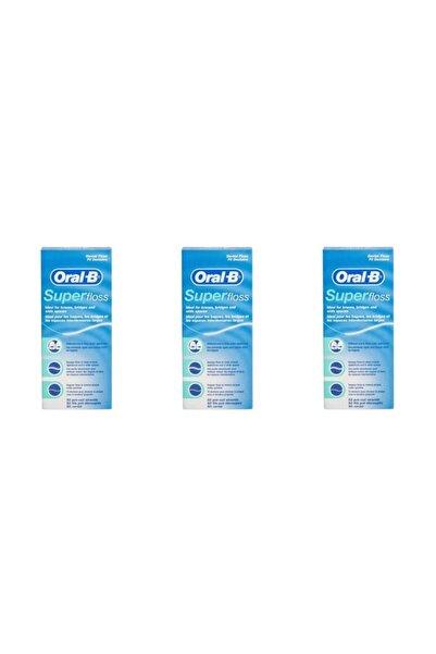 Oral-B Diş Ipi Super Floss 50 Adet X 3 Kutu