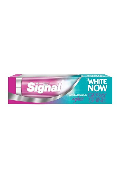 Signal White Now Glossy Shine Diş Macunu 75ML + CCGold 50ML 6X125ML