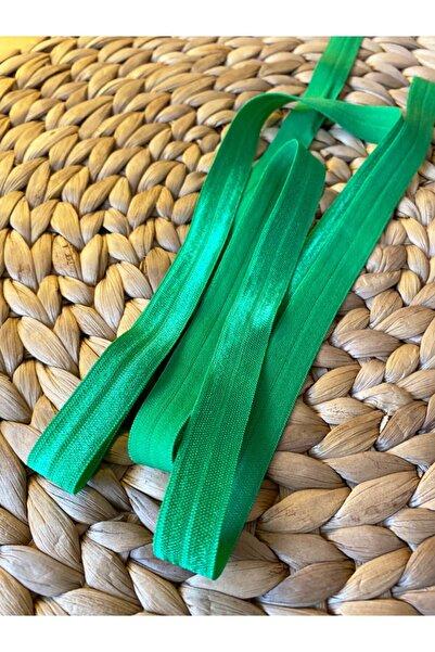Baby Fehn Koyu Yeşil Saç Bandı Için Lastik Turuncu, 1.6c m 1 metre