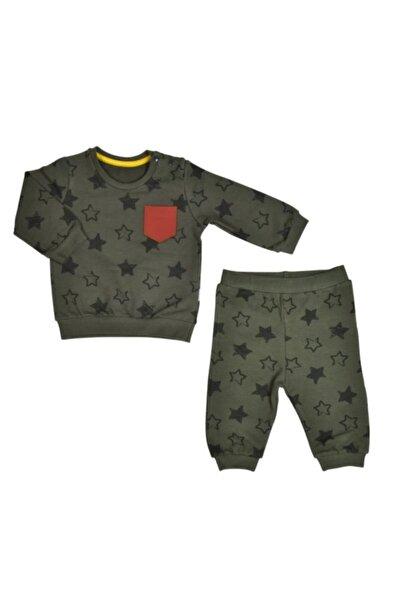 kitikate Erkek Bebek Yeşil Organik Momto İkili Takım