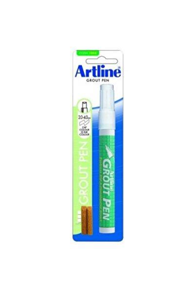 artline Grout Pen Fayans Arası Boyama Markörü Beyaz + 2 Yedek Uç