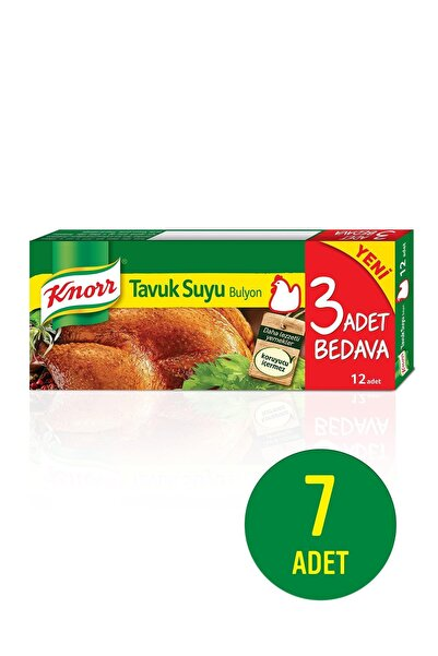 Knorr Tavuk Bulyon 12'li 120 Gr X 7 Adet