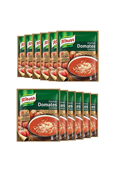 Knorr Kremalı Domates Çorbası 69 Gr X 12 Adet